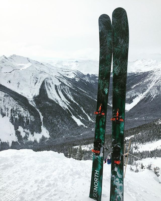 Conditions @kickinghorsemtn were amazing and the new boards felt great! Another top sheet designed by @emily.beaudoin
