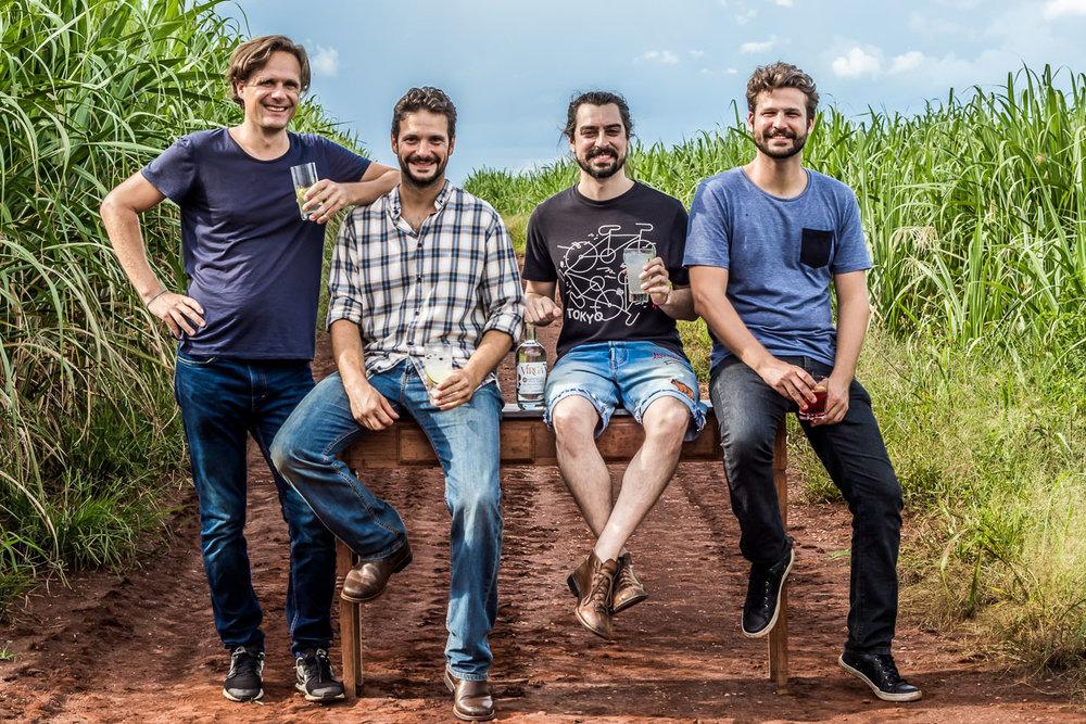 Joscha Niemann, Gabriel Foltran, João Lucas Leme e Felipe Jannuzzi