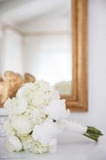 All white bridal bouquet   The Arrington Company  