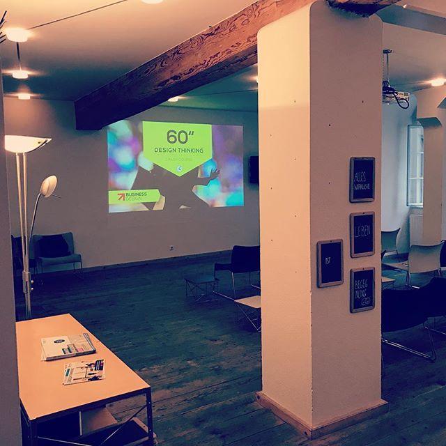 mit unserem #designthinking #crashcourse im Kepler Salon in Linz