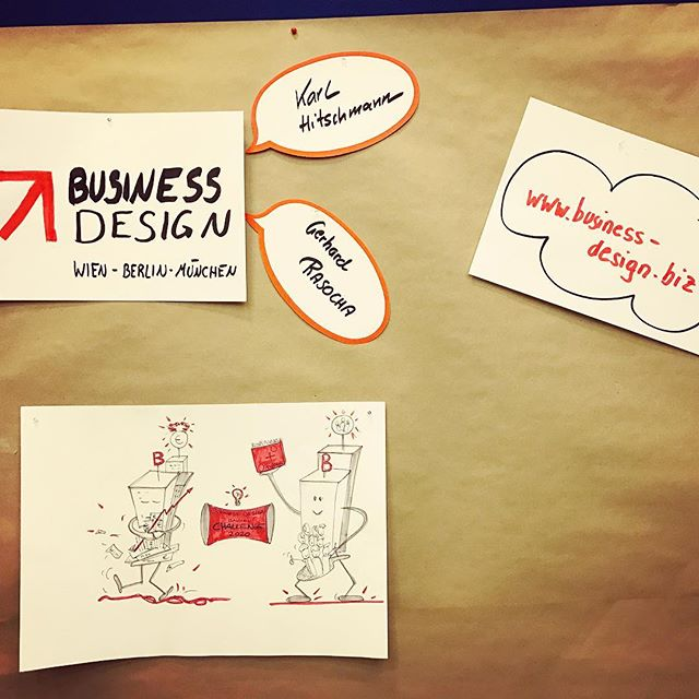 #businessdesign mit eigenem #workstream beim #bankenchallenge in #köln #event