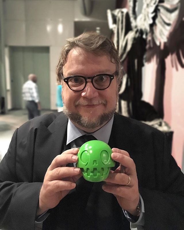 Today is the day to celebrate this guy and his amazing creations and inspiration he provides to many many artists out there.  #VivaGuillermoDelToro #calaverita #losbeastbrothers #losmofitos #thebeastbrothers #LACMA #LA #art #guillermodeltoro