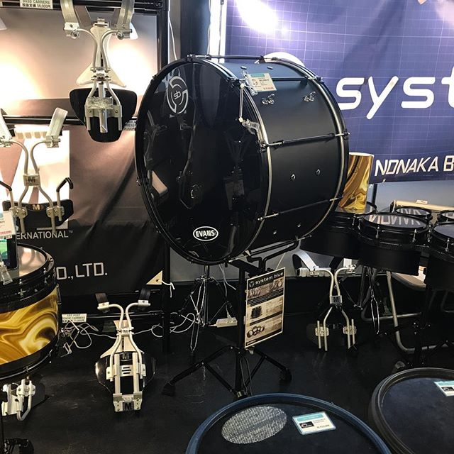 SB booth in Tokyo at the Championships #sb #systemblue #jenlowe #bdpercussion #bdworld