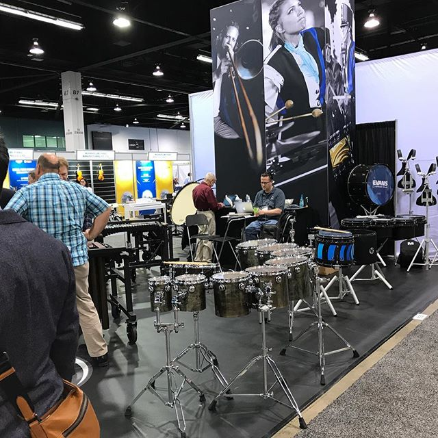 Booth 9135 NAMM... come by and say hi 😎 #bdpercussion #sb#systemblue #bdworld #namm2018