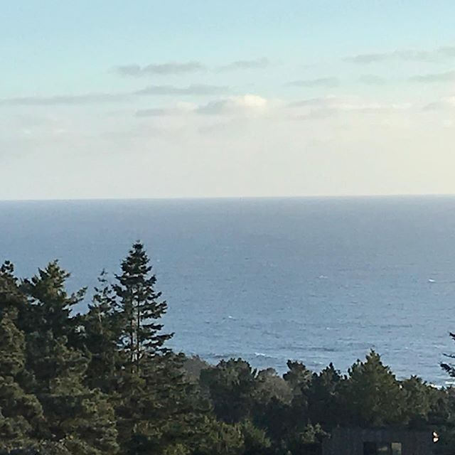 Sitting on my deck... watched at least 20 🐋 swim by.... I do love it up here... 😎#bdpercussion #bdworld #sb #searanch #jenlowe