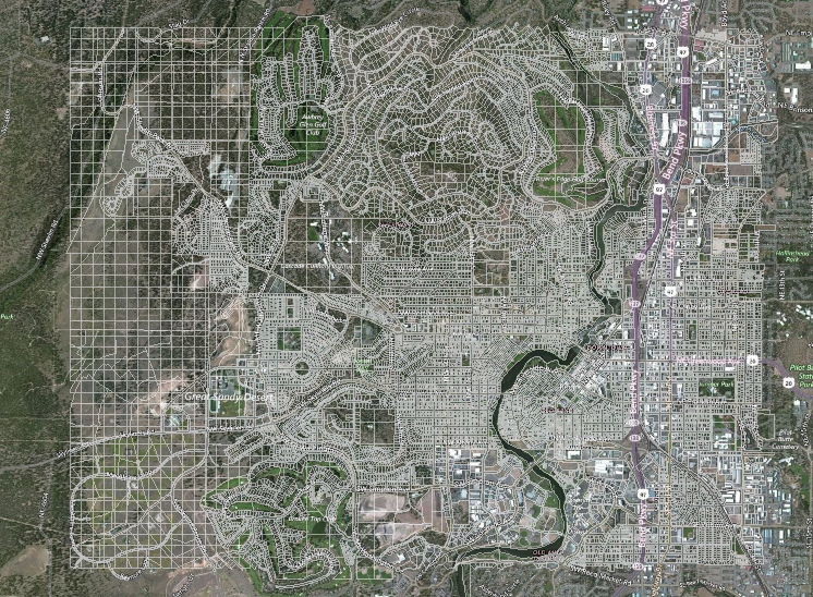 Sample ET GIS Layer - Bend, Oregon (~16,000 polygons)