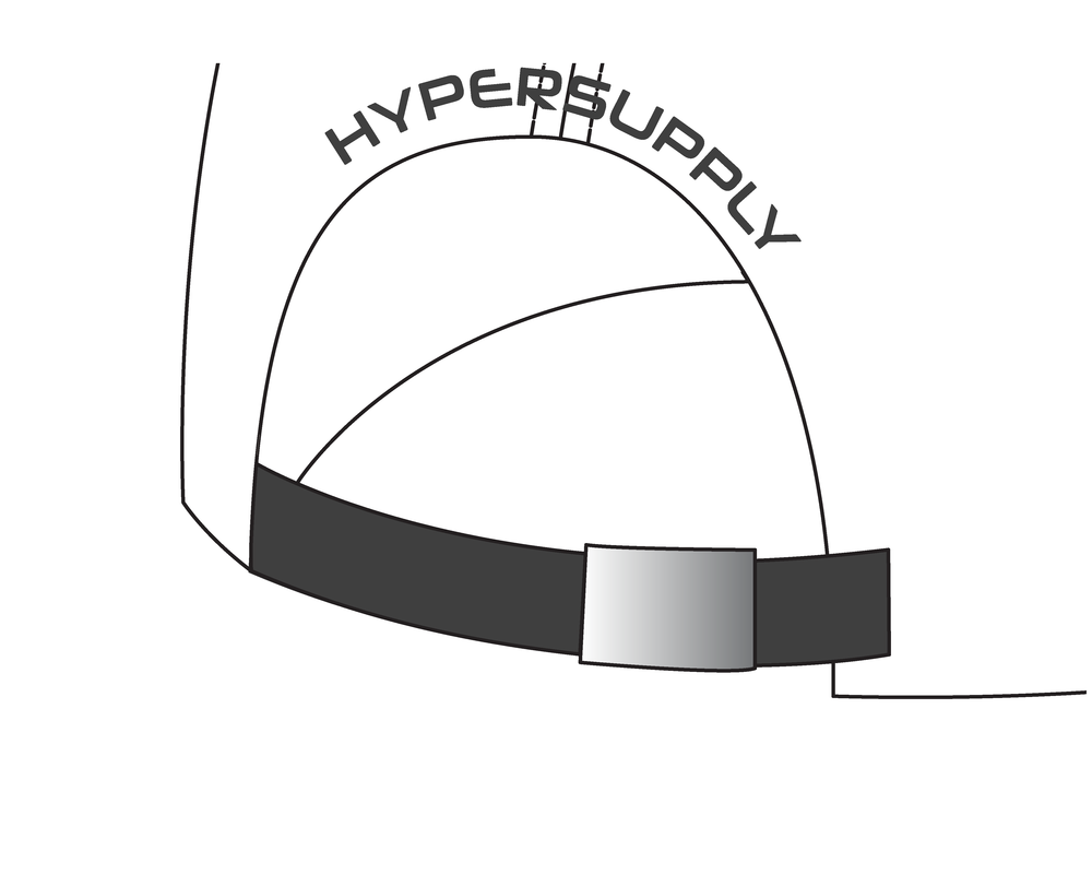 Metal buckle (Silver)