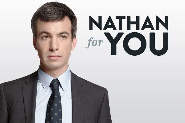Nathan Fielder really likes to troll people. This show is the only of its kind. Nathan fielder goes around the country advertising himself to small business as someone who has great Ideas to help their business become successful. Then when they ask for his help he purposely pitches extremely convoluted ideas that are really out there. It's hilarious to see the store owner reluctantly agree to his plans and watch in horror as they play out. The funniest part is sometimes they actually work. In one episode he opened a coffee shop called 'Dumb Starbucks' and it went viral! His crazy ideas and awkward interactions with people make this show hilarious.