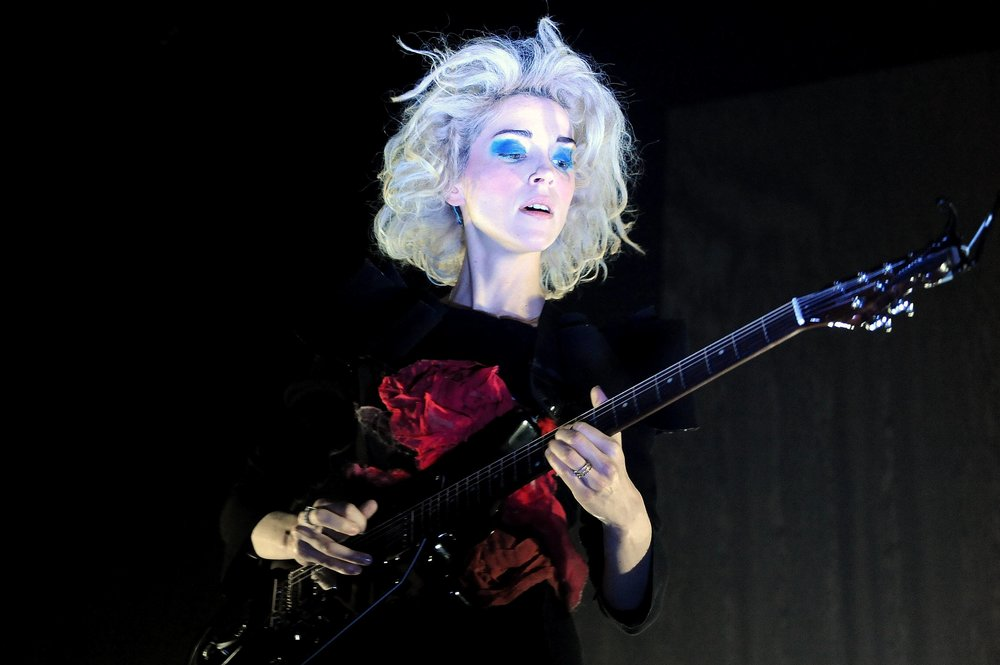St. Vincent at House of Blues in Dallas.    Photo: Dallas News