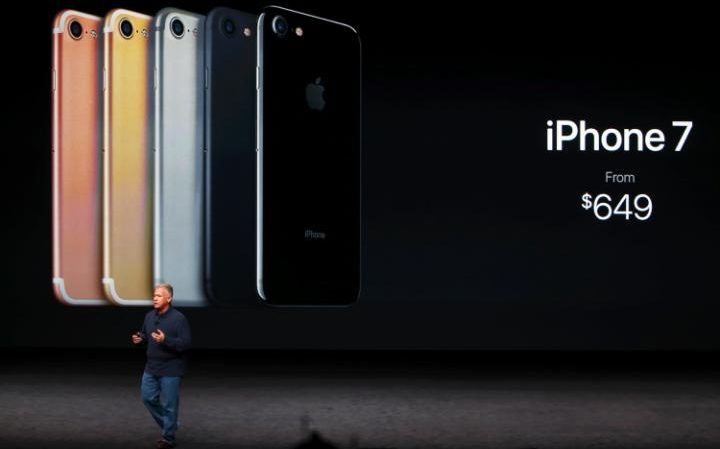 IPhone 7 5 Colors that will be available at launch.