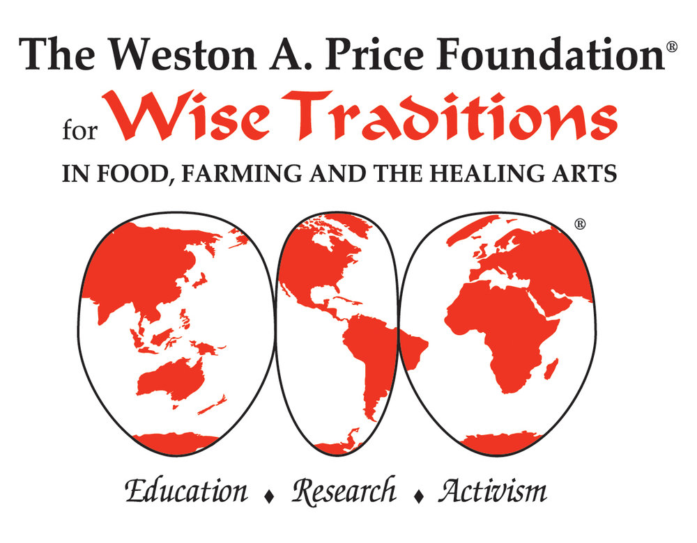 Weston A. Price Foundation is based on the research of nutrition pioneer Dr. Weston A. Price. WAPF promotes animal fats from raw milk and grassfed meat.