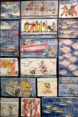 Julie's Entry in the 22nd Annual All Cape Cod Art Show