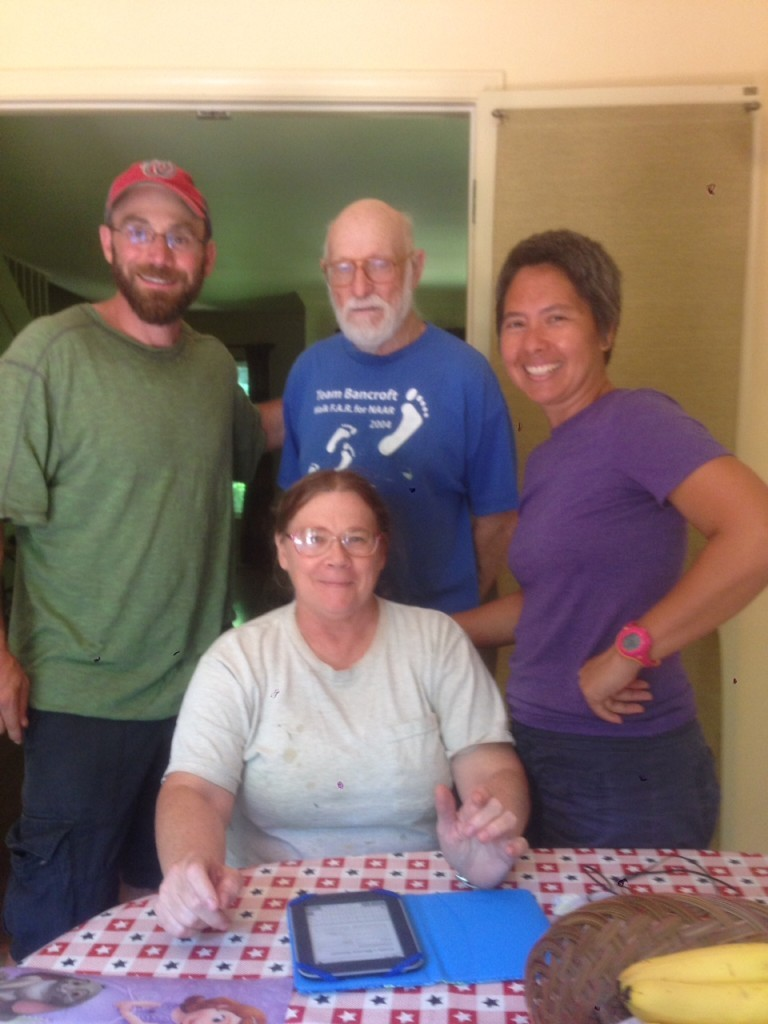 Our hosts in Walkerton, North Carolina - Patti and Frank in W