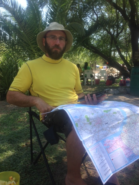 Here I am with a map of Mexico and no clue which way to go