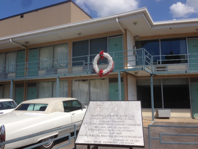 The Lorraine Motel in Memphis, TN