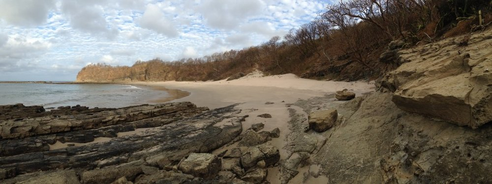 Or this? This beach is about 10 minutes walk north of Playa Maderas so if the crowds get to thick, you can escape.