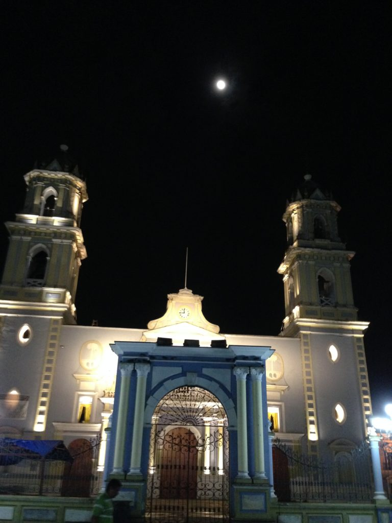 The full moon rises over the Catedral in Cordoba, Mexico just as it has done every cycle since 1688.