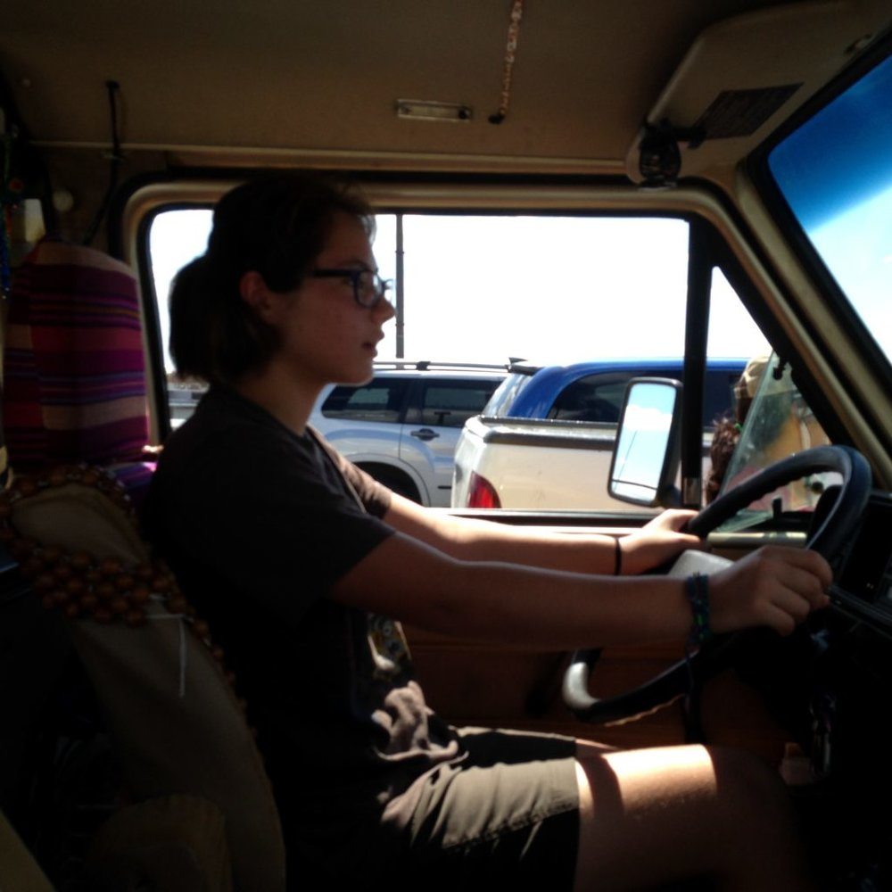 Being behind the wheel while crossing an international border was definitely not what Coconut thought she would be doing when she woke up Monday morning. But she stepped up at crunch time.