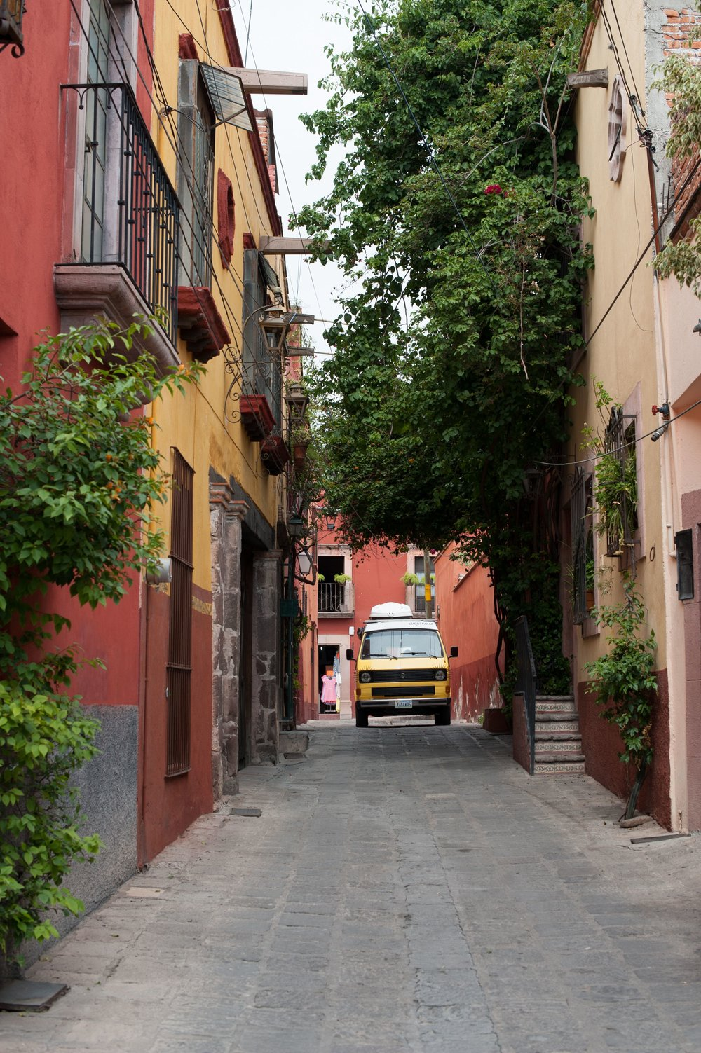 Colorful houses, narrow streets, and friendly people add allure to San Miguel de Allende, Mexico.
