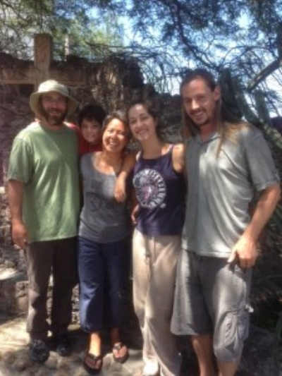 Me, J, R, Mittie and Sean in San Miguel de Allende. Coconut took the photo