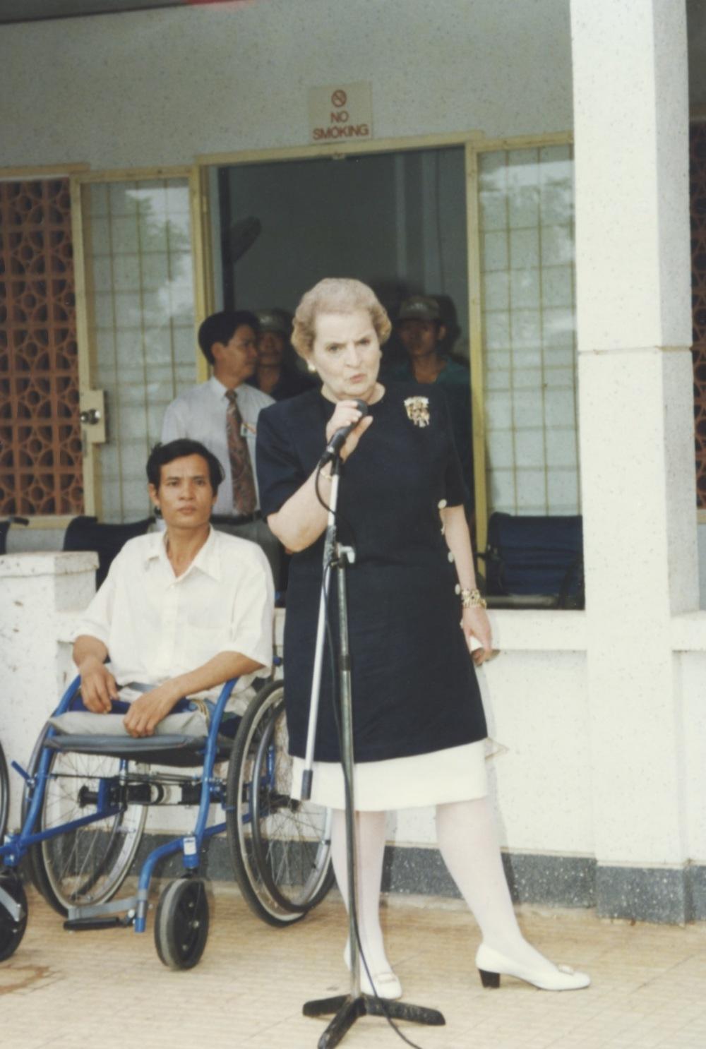 US Secretary of State Madeline Albright - 44.jpeg