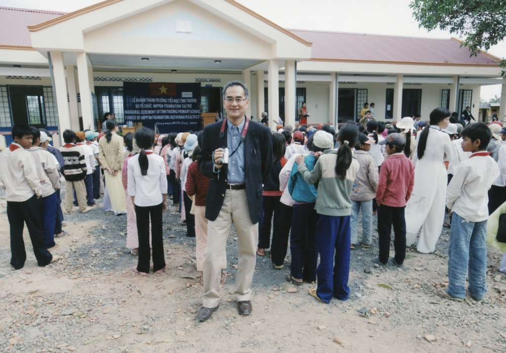 Opening Ceremony for a Primary School in Kontum Prov. (Central Highland) 2008 - 06.jpeg
