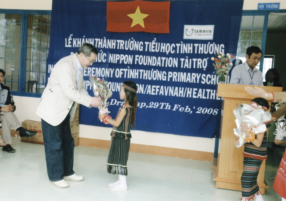 Opening Ceremony for a Primary School in Kontum Prov. (Central Highland) 2008 - 13.jpeg