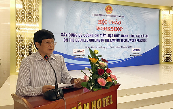 Mr. Do Manh Hung, Vice Chairman of CSA, NA