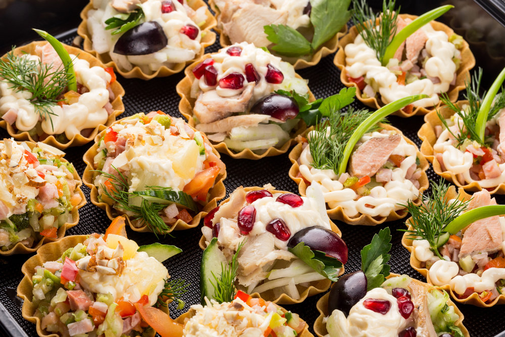 Chicken Salad Pastry Bites