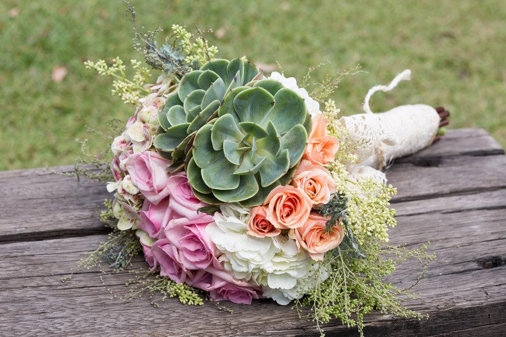 Bridal Succulent Bouquets