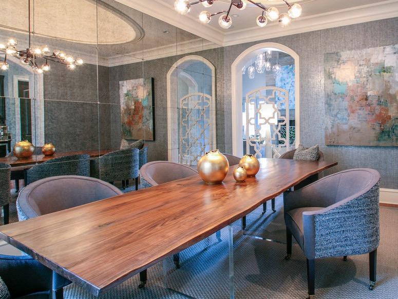 Charming Josh Utsey Design Charlotte Nc Custom Furniture Walnut