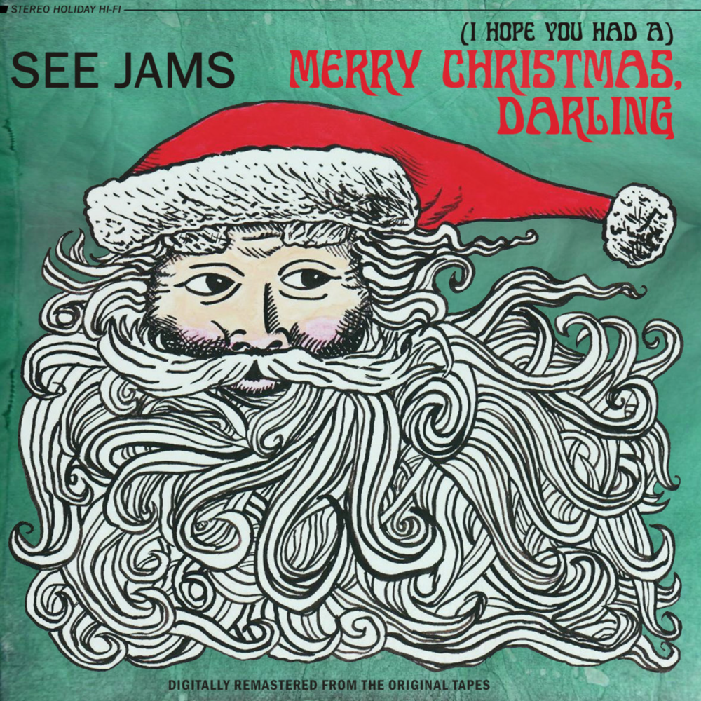 ADD TO CART MERRY CHRISTMAS, DARLING by See Jams