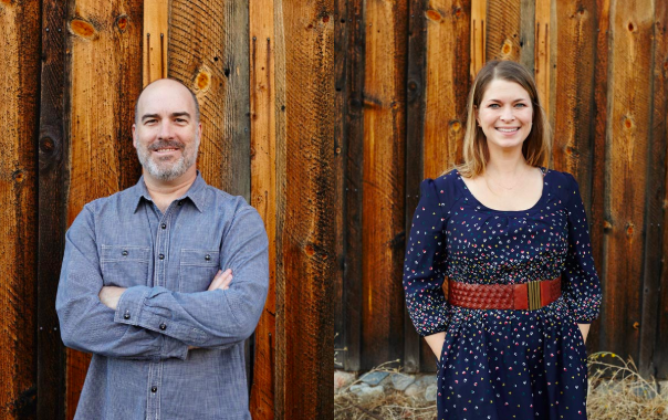 Pictured Above - Sarah and Chris Pittenger - Co-proprietors of Gros Ventre