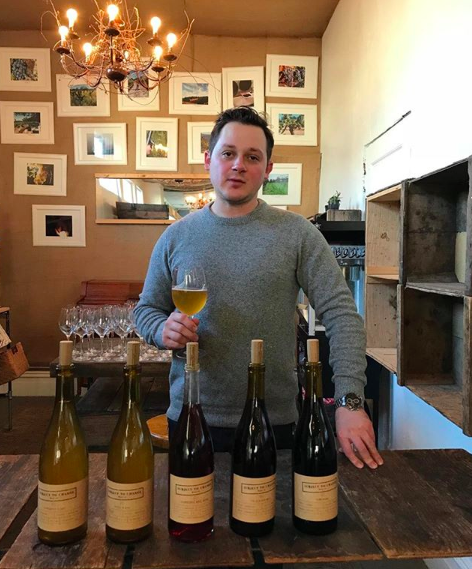 Pictured: Alex Pomerantz of Subject to Change Wine Co.