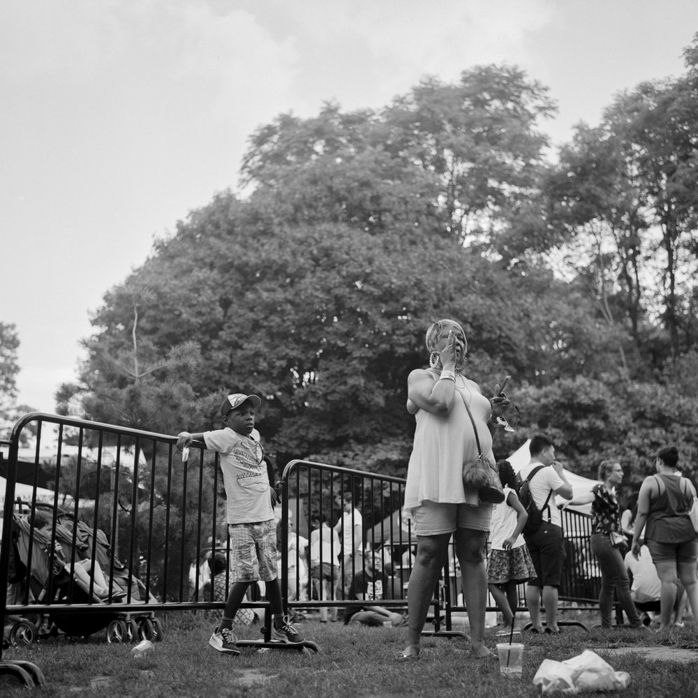 Summer in Prospect Park, July, 2016