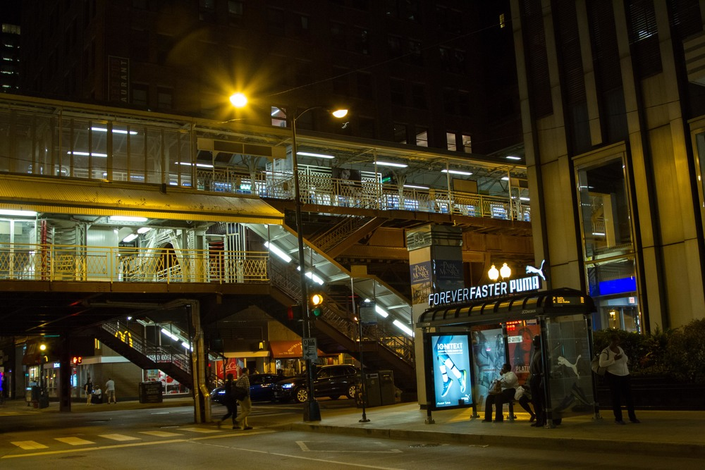 PUMA Light Up Bus Shelter Topper