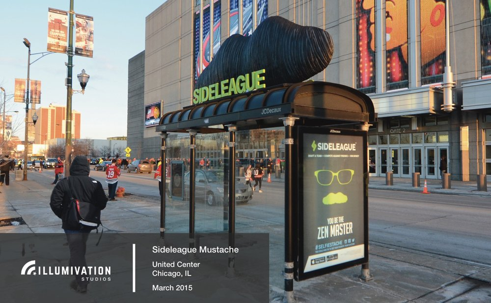 Illumivation Portfolio 2017 Sideleague Innovate JCDecaux Shelters Chicago Creative Outdoor Advertising OOH Out of Home Marketing.jpeg