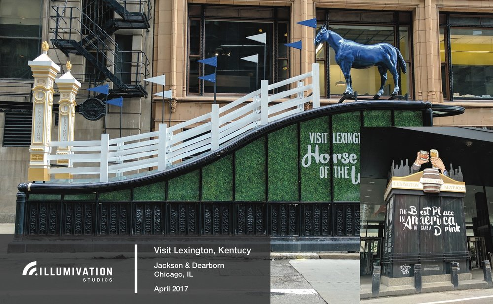 Illumivation Portfolio 2017 Visit Lexington Intersection Blue Horse Chicago Creative Outdoor Advertising OOH Out of Home Marketing.jpeg