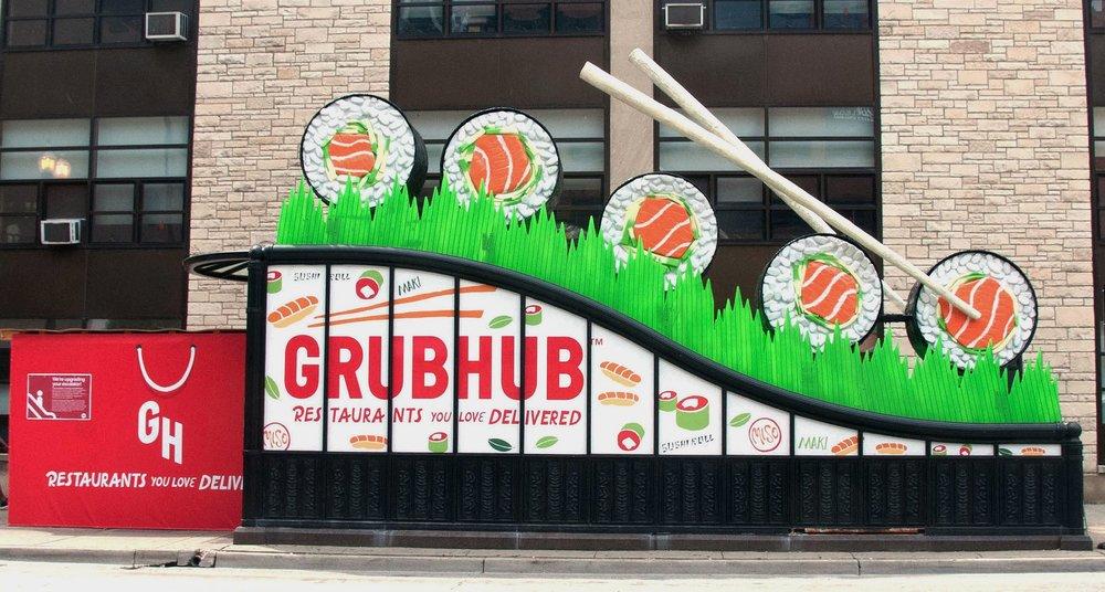 GrubHub Spinning Sushi
