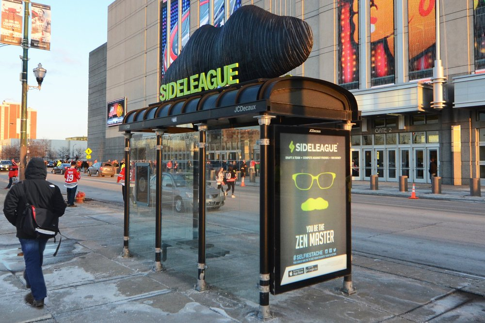 Illumivation Portfolio 2017 Sideleague Innovate JCDecaux Shelters Chicago Creative Outdoor Advertising OOH Out of Home Marketing.jpg