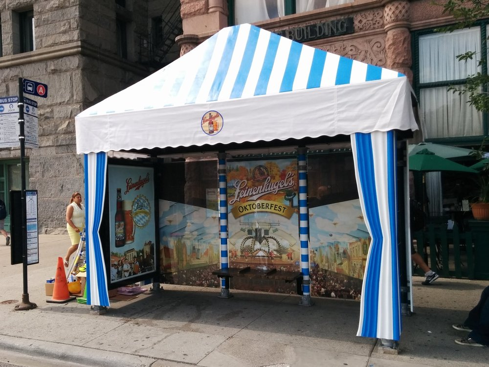 Illumivation Portfolio 2017 Leinenkeugel Oktoberfest Innovate JCDecaux Shelters Chicago Creative Outdoor Advertising OOH Out of Home Marketing.jpg