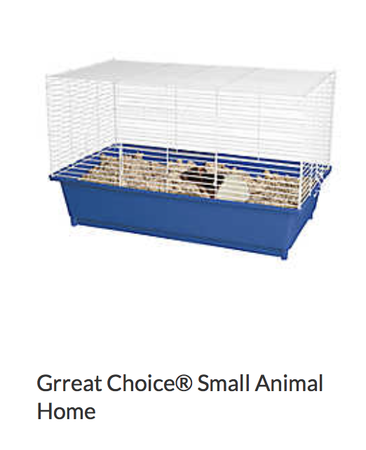 Great Choice Small Animal Home - Not appropriate size wise for rats. Fine as a carrier.