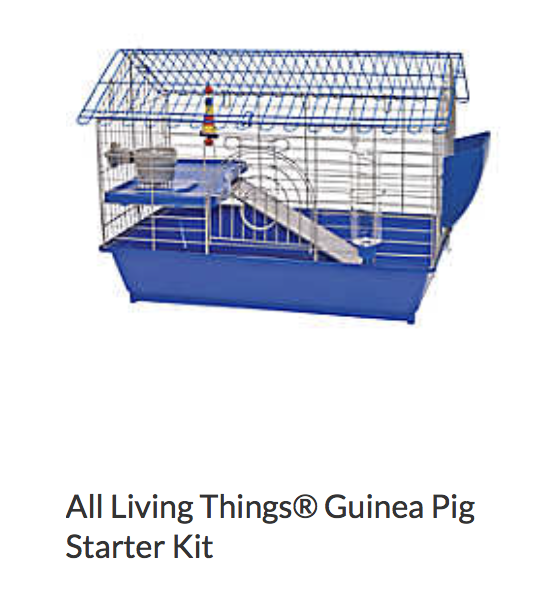 All Living Things Guinea Pig Starter Kit - Not appropriate size wise for rats. Appropriate as a carrier.