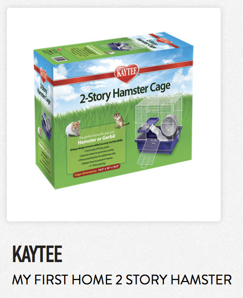 Kaytee My First Home 2 Story Hamster - Not appropriate size wise for rats. Fine as a carrier.