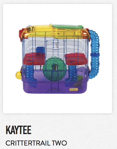 Kaytee Crittertrail Two - Not appropriate size wise for rats. Not appropriate as a carrier.