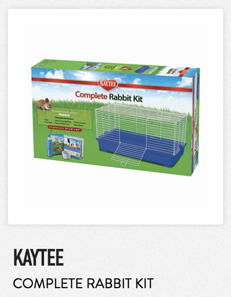 Kaytee Complete Rabbit Kit - Not appropriate size wise for rats. Fine as a carrier.