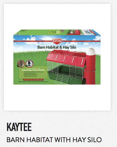 Kaytee Barn Habitat With Hay Silo - Not appropriate size wise for rats. Fine as a carrier.