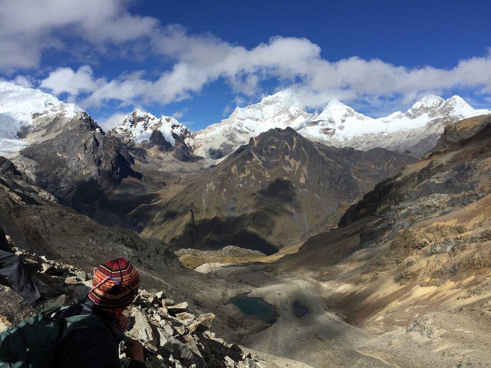 Caracara Pass. One of seven passes on the Cordillera Blanca trek.