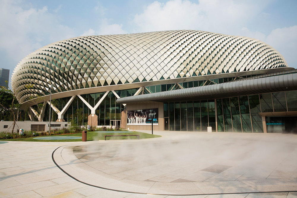 Esplanade Theatres, Singapore   DP Architects and Michael Wilford & Partners