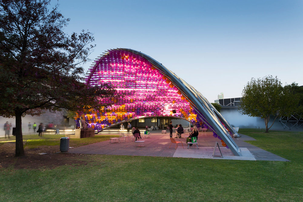 I Dips Me Lid   John Wardle Architects for NGV Melbourne